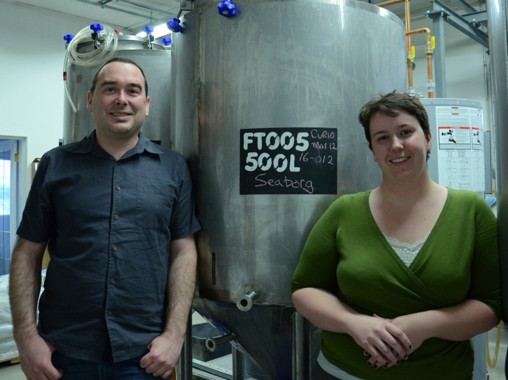 Theoretically Brewing Company brewmaster Kris Fischer and manager Kelti Boissonneault are excited to be part of the Lethbridge community.